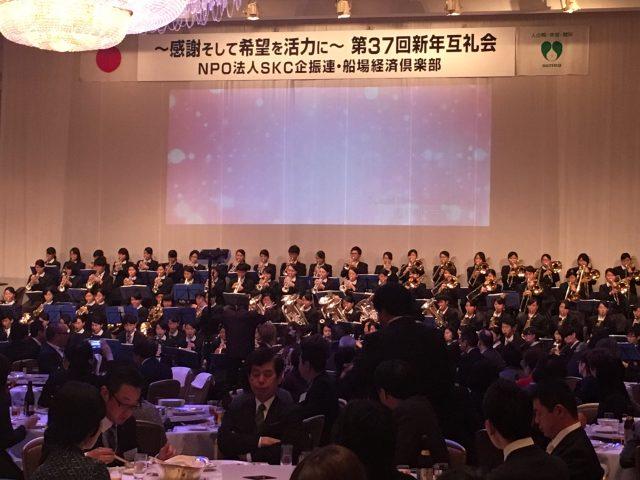 大阪桐蔭高校吹奏楽部演奏